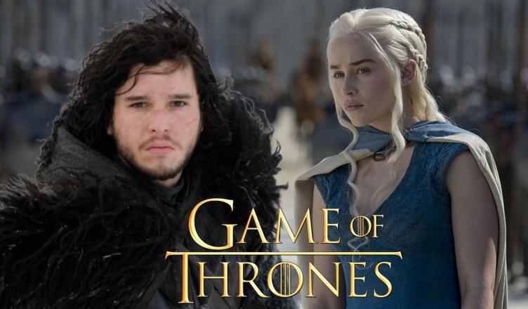 game of thrones snow daenerys
