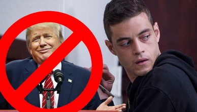 mr robot vs trump
