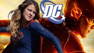 dc supergirl the flash