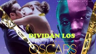 Dividan los Oscar